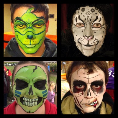 Full Face Painting by Maile
