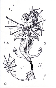 steampunk-mermaid