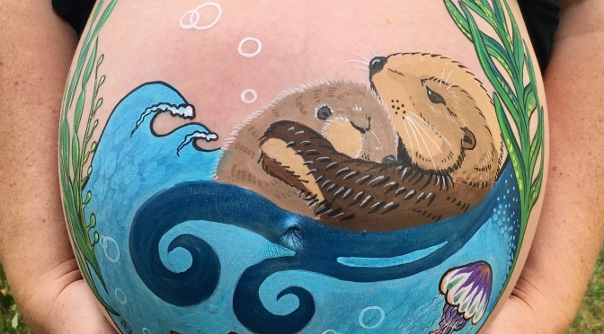 Otter Belly Paint